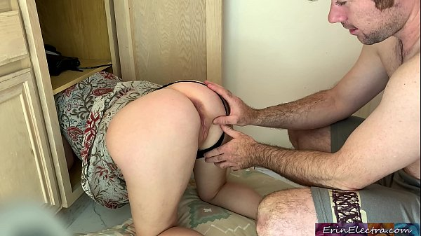 Stepmom gets stuck and fucked - Erin Electra