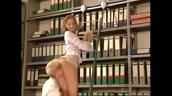 Anja Laval Fucks in the Library