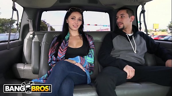 BANGBROS - Crystal Rae Getting Her Big Ass Fucked On The Bang Bus Thumb