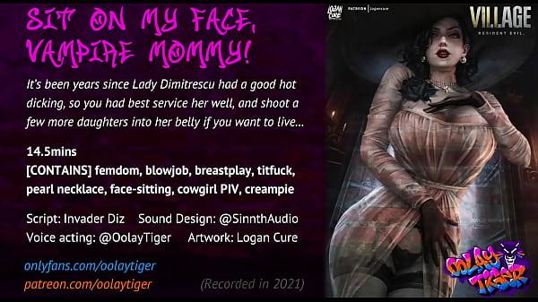 Lady Dimitrescu - Sit on my face, Vampire Mommy! (18 EroAudio