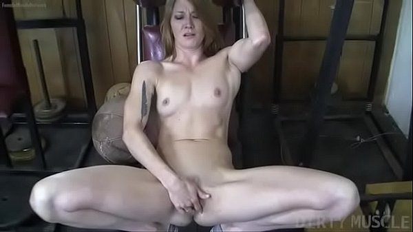 Naked Fit Redhead Cums From Finger Fucking Herself Thumb