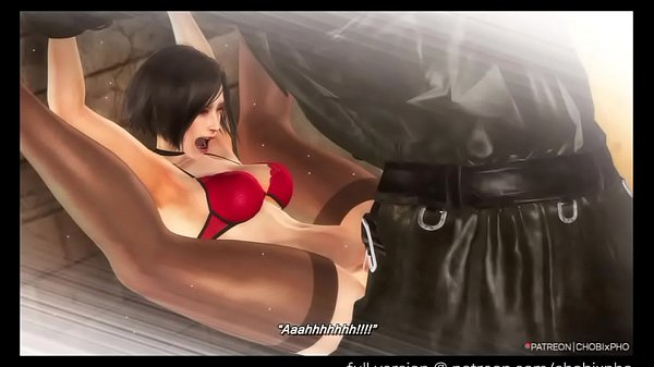 RESIDENT EVIL 2 REMAKE / ADA WONG & MR X SAFE ROOM SEX [CHOBIxPHO]