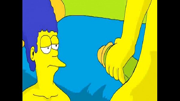 Simpsons sexo anal marge follando con bart trio videosxxx