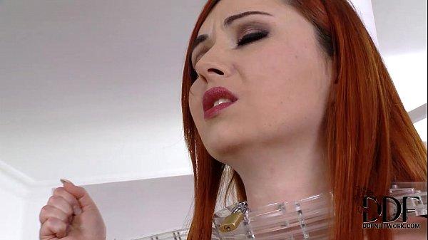 Mistress Gives Slave Girl A Spanking & A Shiny Ass Plug
