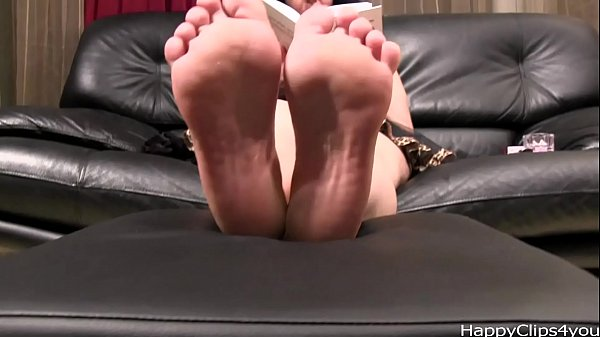 Foot fetish video sample with Alisa by HappyClips4you.com