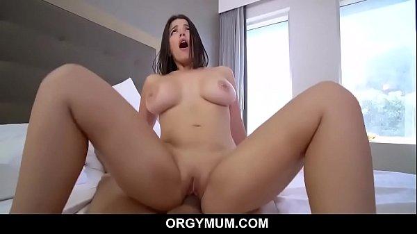 Big Titty Mom Fucks Stepson Before He Leaves - Lasirena69 Thumb
