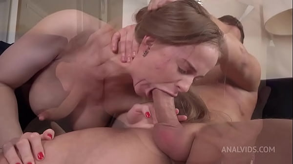 Top model Jenny Manson after Oscar ceremony hard fucked in the ass   anal squirt   anal orgasm   anal gape VK026 Thumb