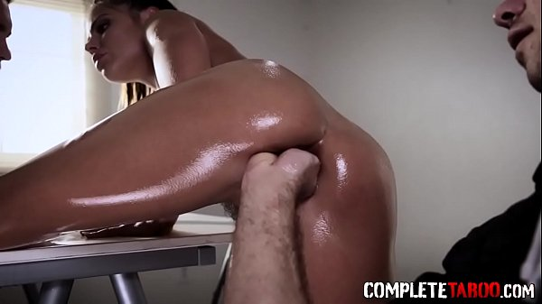 Arrested babe gets fisted before riding cop