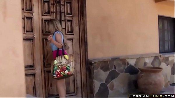 Innocent Maid Perverted by Lesbian Milf - LesbianCums.com