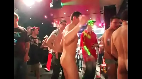 It's party time for these dudes desirous to get gangbanged hard