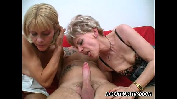 Image Amateur threesome with 2 nasty mature housewives