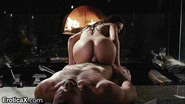 EroticaX Autumn Falls Passionate Sex Scene