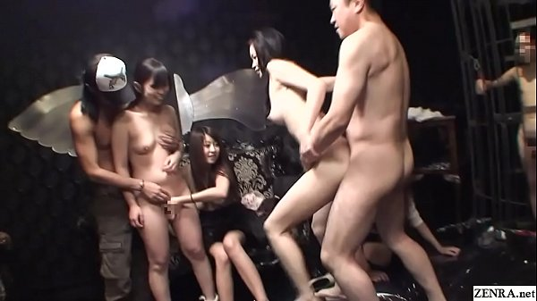 JAV swingers club orgy cheating sex party in HD