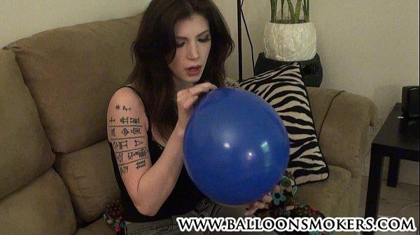 Alt Tattoo Teen Blows Up Balloons