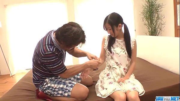 Suzu Ichinose fantasy sex with an older man - M...