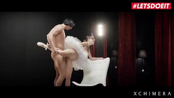 LETSDOEIT - Czech Ballerina Jessica X Tease And Rides Muscle Lover