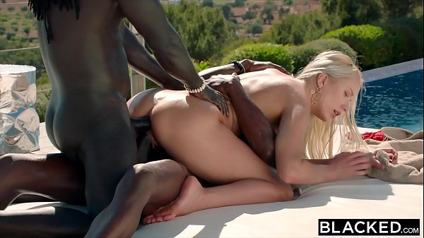 BLACKED She treated herself to a double BBC vac...