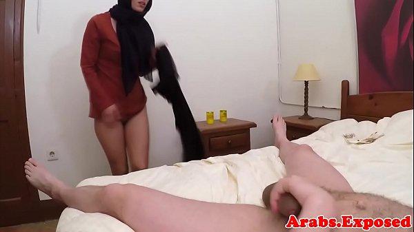 Dickriding muslim POV sucking cock