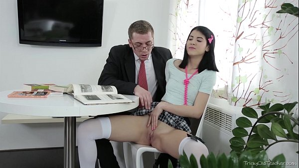 Tricky Old Teacher -  Jody played with her pussy Thumb