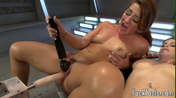 Squirting lesbian finger banged before toying Thumb