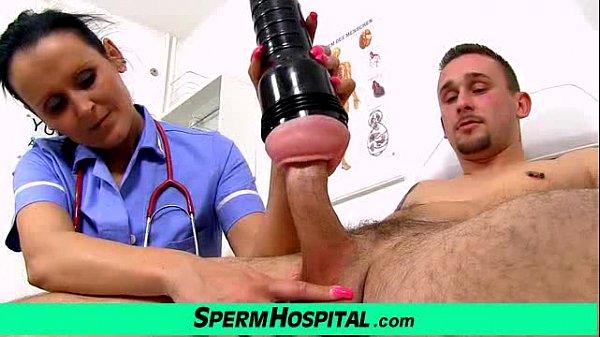 Mom with boy tugjob at hospital feat uniform milf Nora Thumb