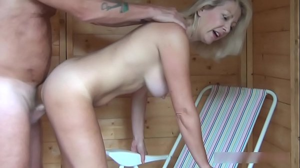 Christie gets fucked in her shed by stranger