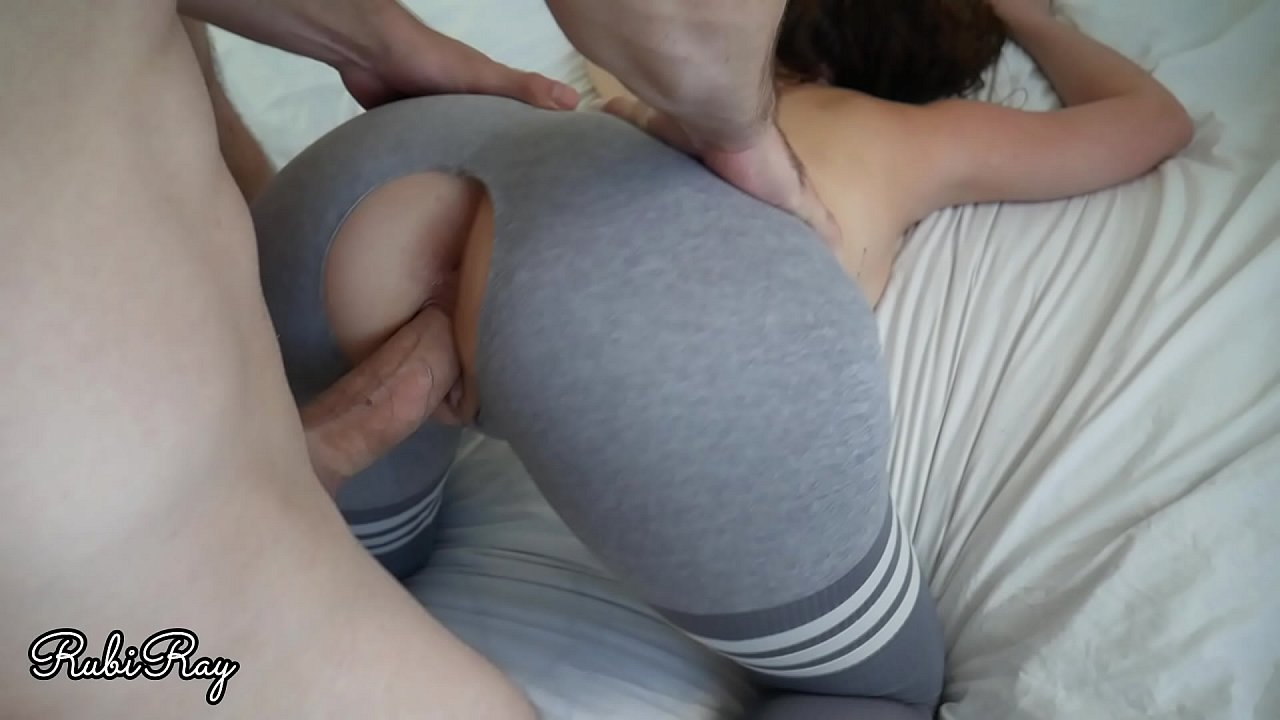 Hot fit chick with big tits filled by cream pie Fit Babe Loves Creampie In Her Ripped Yoga Pants Xvideos Com