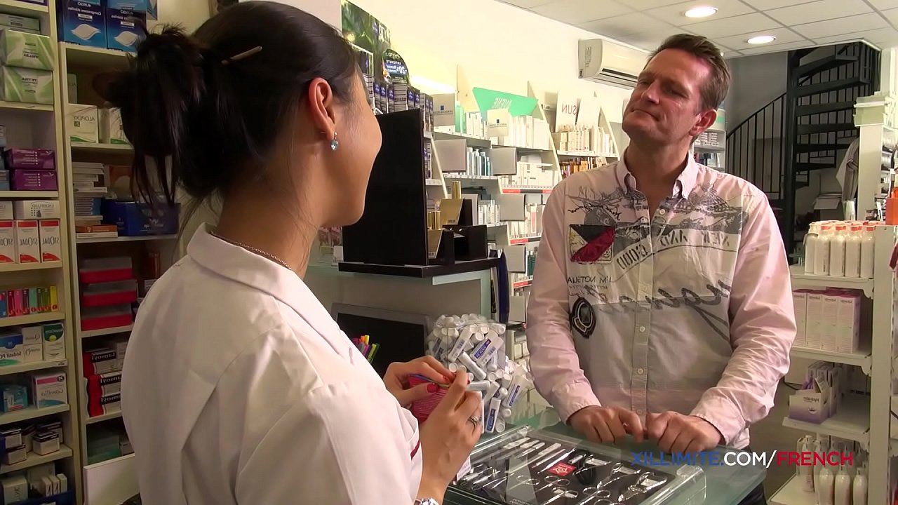 French Pharmacist Gets Fucked In The Ass By A Huge Dick