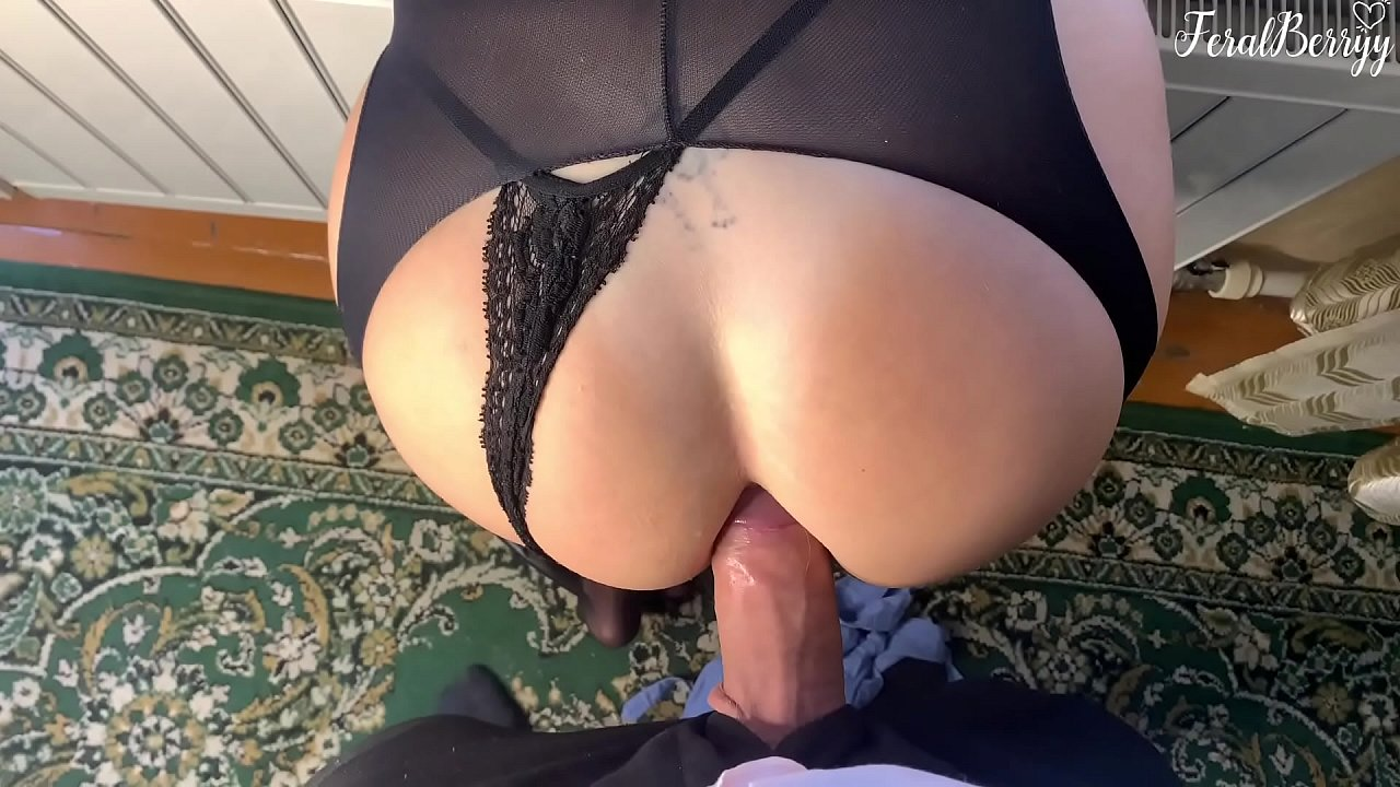 Fucked Schoolgirl In Her Tight Asshole While Parents Arent At Home. Feralberryy  - 10