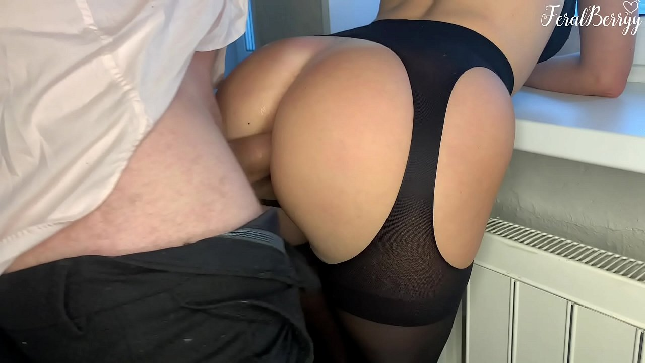 Fucked Schoolgirl In Her Tight Asshole While Parents Arent At Home. Feralberryy  - 20