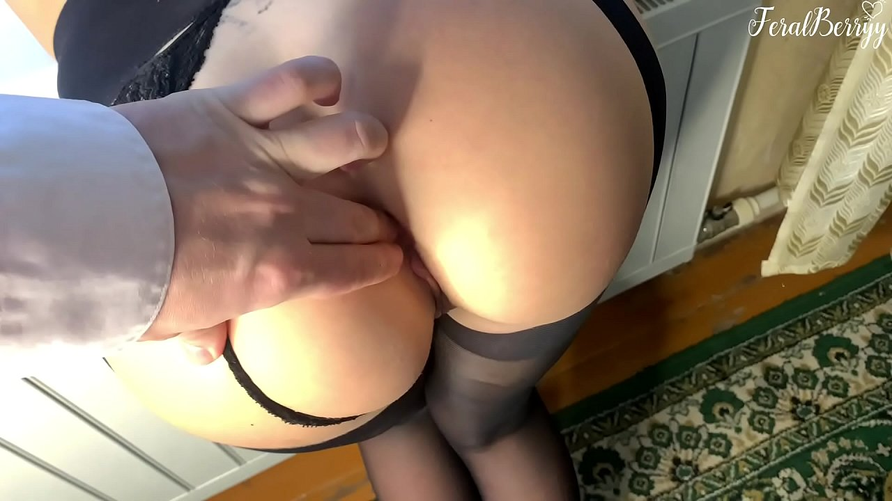 Fucked Schoolgirl In Her Tight Asshole While Parents Arent At Home. Feralberryy