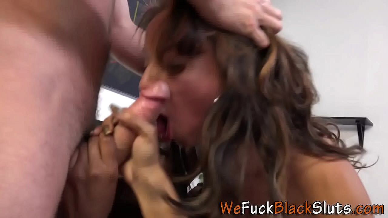 Ebony babes pussy drips cum into cuties mouth