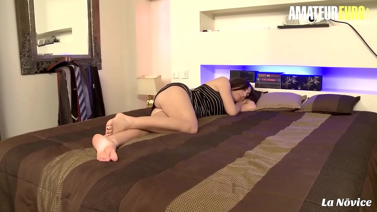 AMATEUR EURO - Sweet French Eloa Lombard Wakes Up For Anal Smash  thumbnail