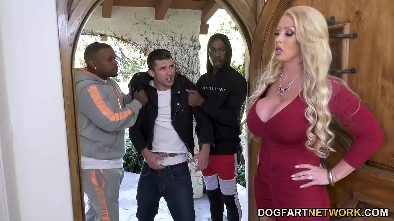 Alura Jenson Interracial Dp Porn stepmom alura jenson gets dpd in front of her stepson