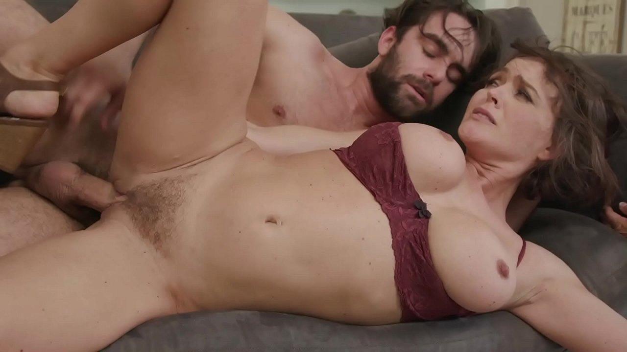 Big Tit Milf Step Mom Krissy Lynn Fucks And Squirts On Son  - 25