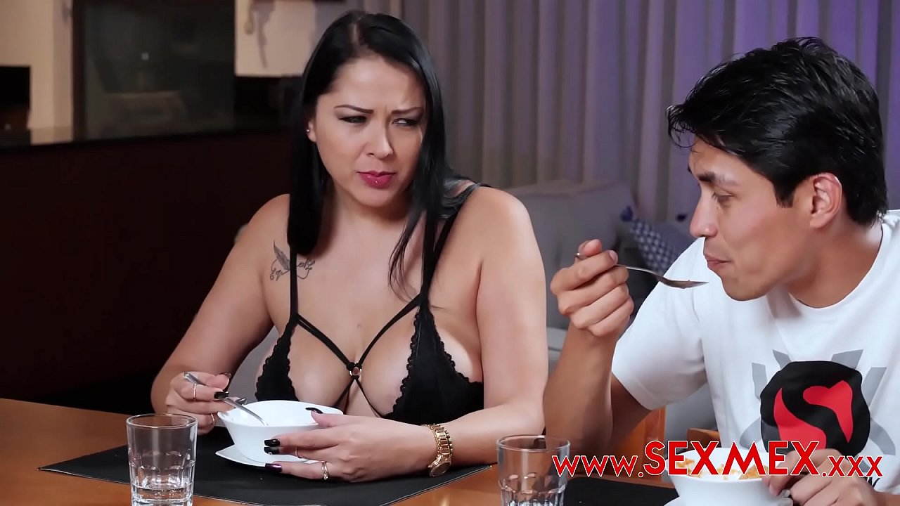 Taboo Story. He Blackmailed His Dad In Order To Fuck Stepmom  - 15
