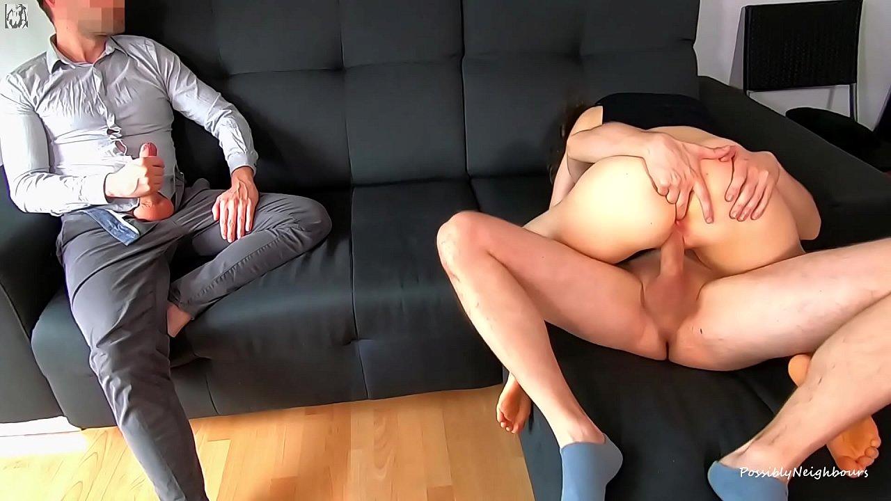 Gangbang While Husband Watches