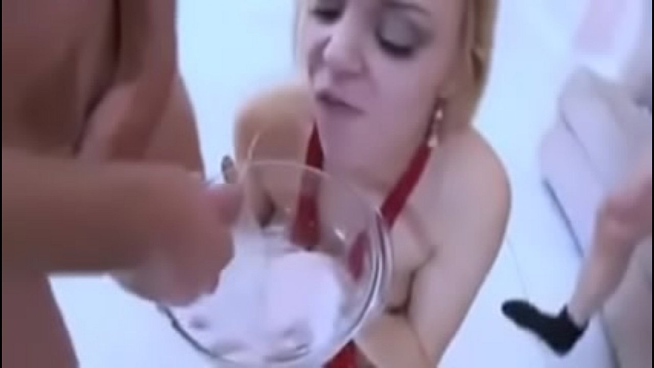 Cum Twice Blowjob Schwarz
