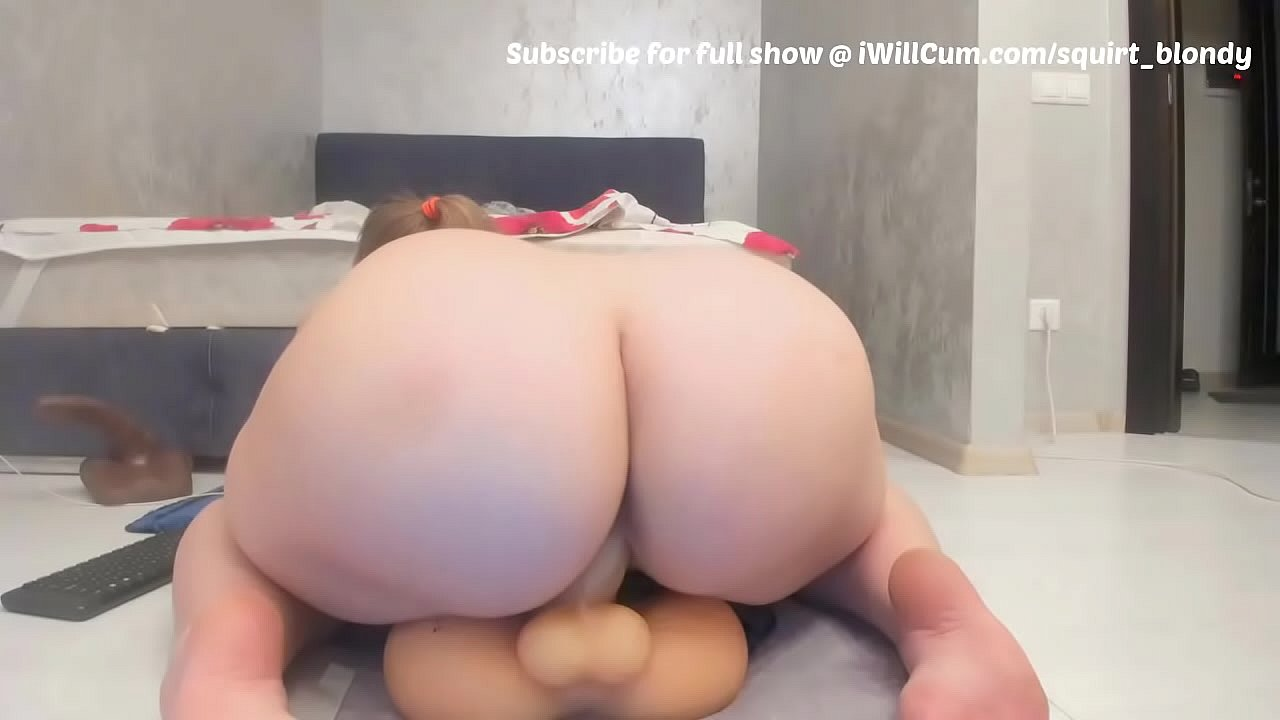 Bbw Riding Dildo Orgasm