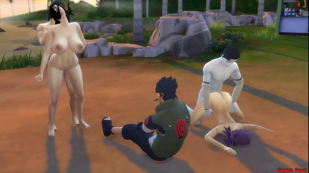 18 Esclava Abusada Porno akatsuki ataca kurenai y anko son violadas en publico marido