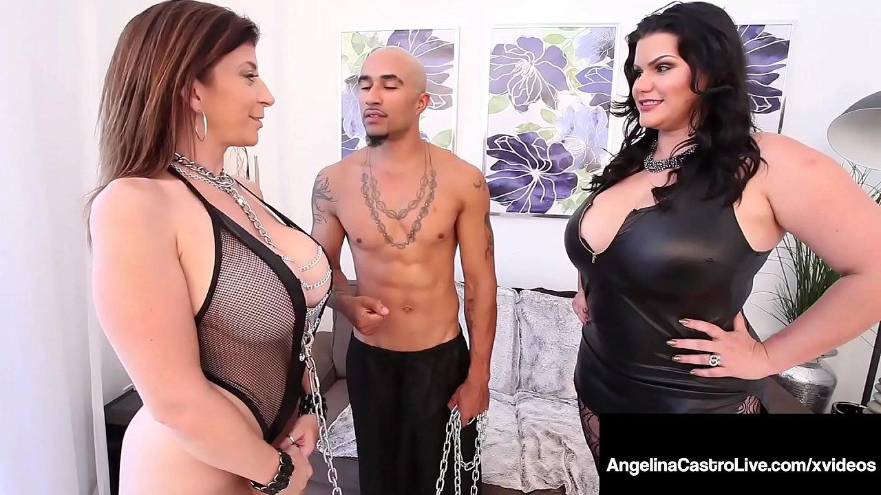 Curvy Cuban Angelina Castro & Big Black Cock Fuck Sara Jay! 10 min 1080p