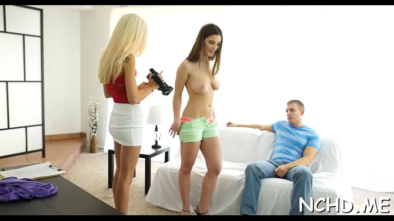 Auditions Hd Halle Von Porn Video dishy halle von prepares for blowjob - xvideos