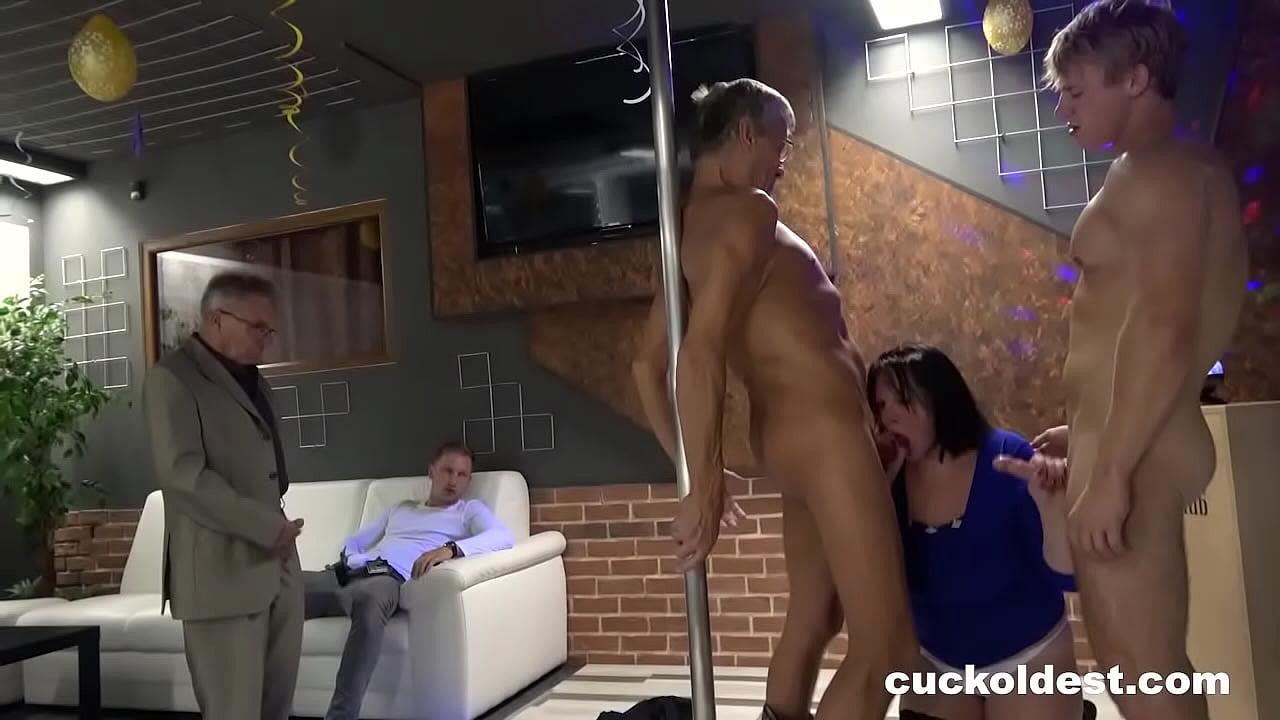 Grandpa and Grandma make a Hot Cuckold