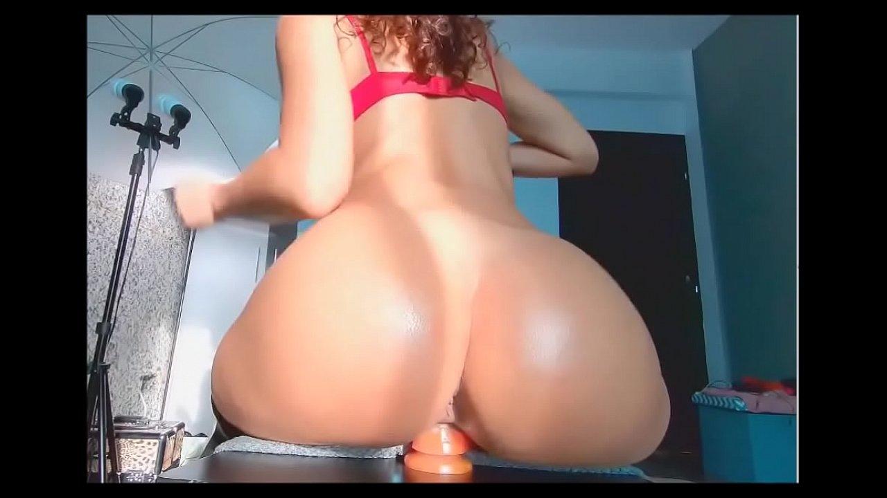 Riding Dildo Fingering Ass