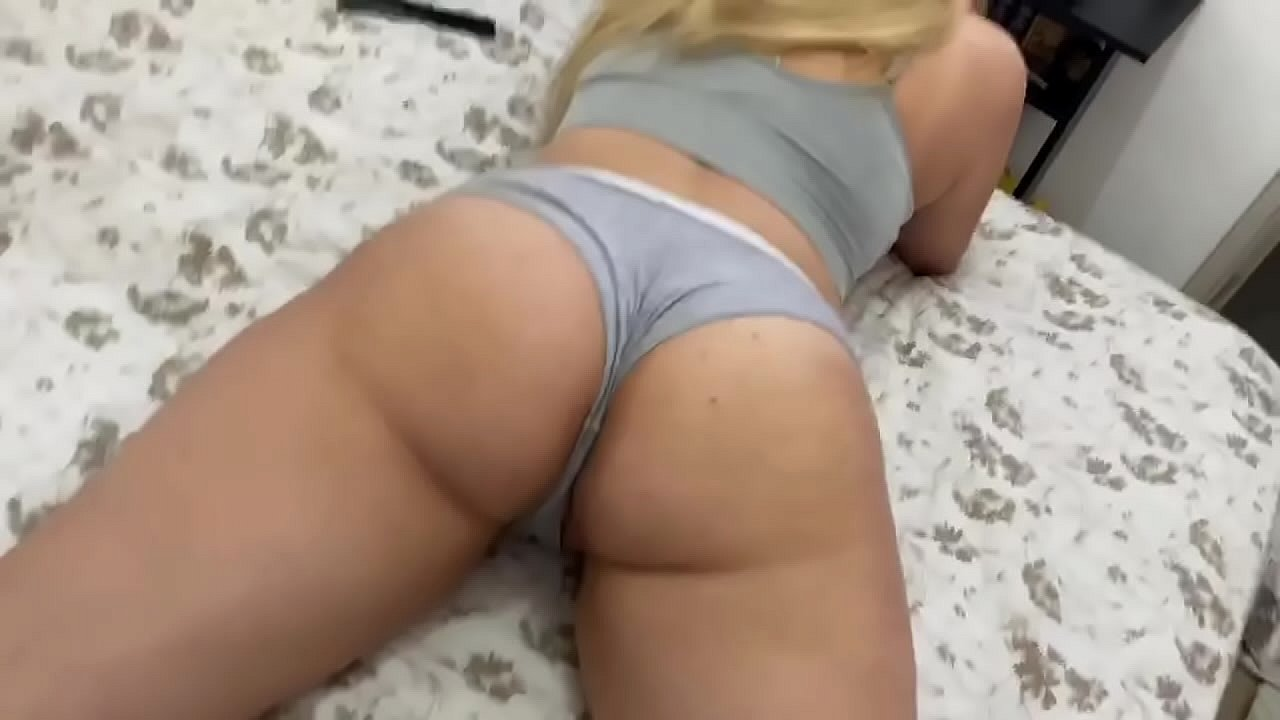 Step Sister Bends Over My Cock