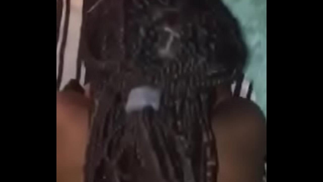 Ebony Step Sister Masturbating
