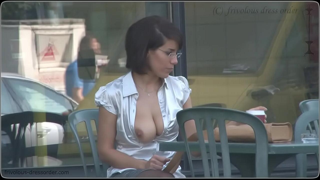 Hanging Her Tits Bondage