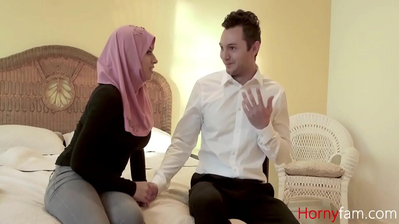 Arab Daughter Fucks White Daddy- Ella Knox  thumbnail