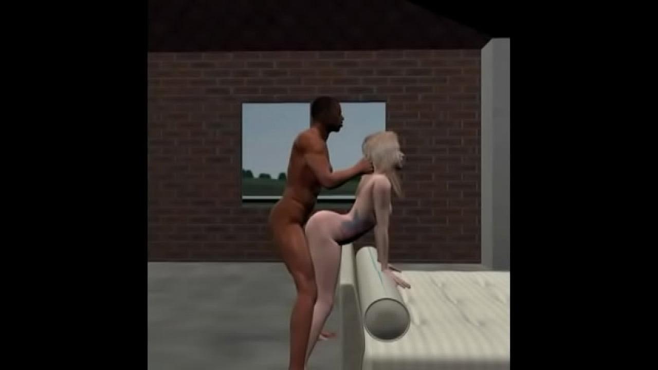 White Guy Fucks 2 Black Girls