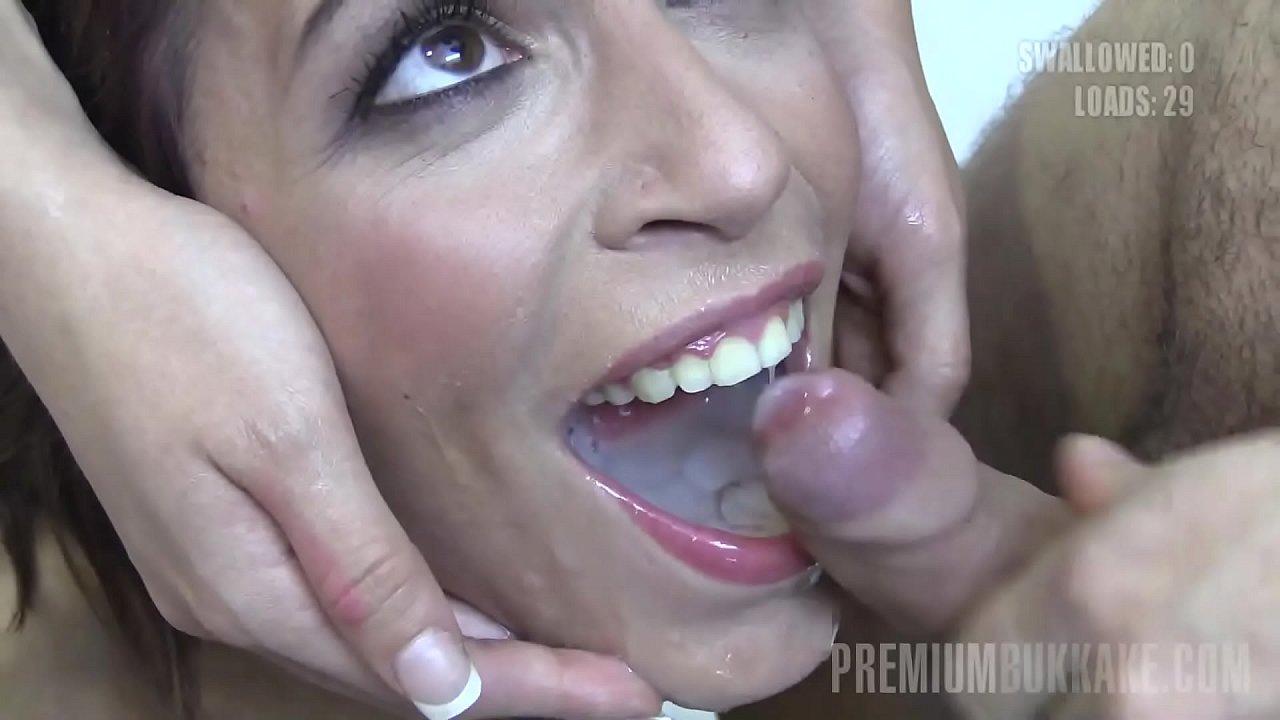 Agliardi Silvana Porno premium bukkake - silvana swallows 58 huge mouthful cumshots